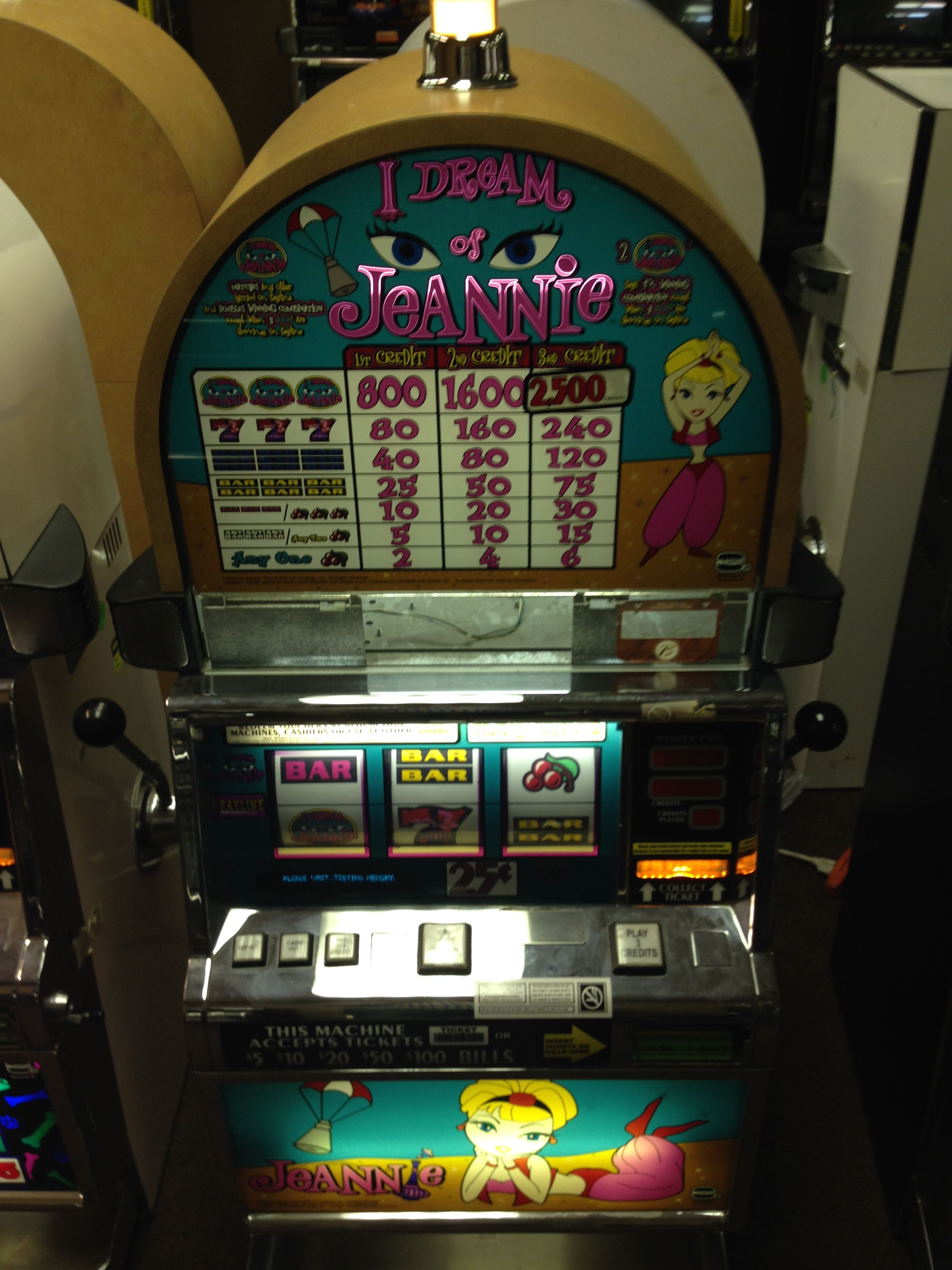 I Dream Of Jeannie Texas Slots And Gaming Inc